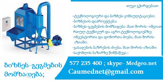 საინვესტიციო რესურსების მოძიება 577 235 400
