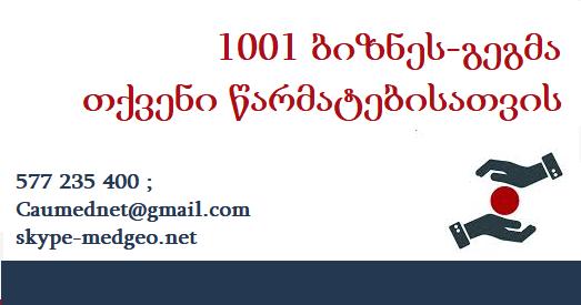 1001 წარმატებული ბიზნეს-გეგმა